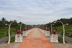 Chiang Mai Thailand på kungliga Flora Ratchaphruek Park Fotografering för Bildbyråer