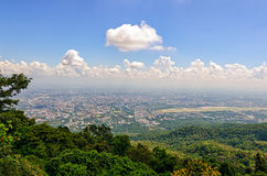 Chiang Mai (Thailand) panoramic view Stock Photo