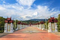 Ratchaphreuk Garden - Chiang Mai - Thailand Royalty Free Stock Photo