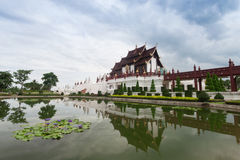 Chiang Mai, Thailand at Royal Flora Ratchaphruek Park. Royalty Free Stock Images