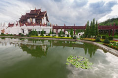 Chiang Mai, Thailand at Royal Flora Ratchaphruek Park. Stock Image