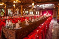 Chiang Mai, Thailand Royal Restaurant of the main building Royalty Free Stock Photo