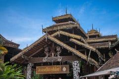 Chiang Mai, Thailand Royal Restaurant of the main building Stock Image