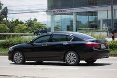 Private car Honda accord. CHIANG MAI, THAILAND -SEPTEMBER 12 2017: Private car Honda accord. On road no.1001 8 km from Chiangmai Business Area Royalty Free Stock Photo