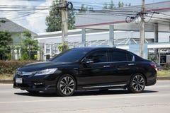 Private car Honda accord. CHIANG MAI, THAILAND -SEPTEMBER 14 2017: Private car Honda accord. On road no.1001 8 km from Chiangmai Business Area Royalty Free Stock Image