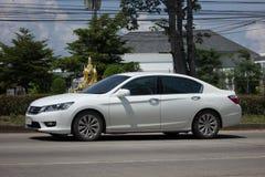Private car Honda accord. CHIANG MAI, THAILAND -SEPTEMBER 23 2017: Private car Honda accord. On road no.1001 8 km from Chiangmai Business Area Stock Photos
