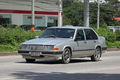 Private old Car Volvo 740 Stock Photography