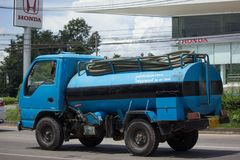 Private old  water Tank Truck. Royalty Free Stock Images