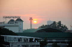 Chiang Mai Thailand Sunrise stockfotos
