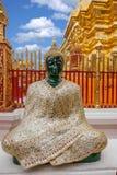 Chiang Mai Thailand Suthep Doi Suthep Buddhist stupasida Arkivfoton