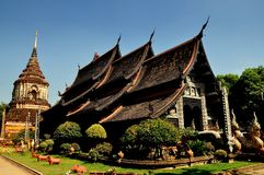Chiang Mai, Thailand: Vihan at Wat Lok Molee Stock Photo