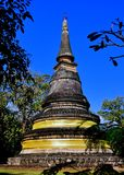 Chiang Mai, Thailand: Wad Umong Stone Chedi Stock Images