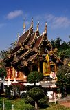 Chiang Mai,Thailand: Wat Chedi Liem Vihan Hall Royalty Free Stock Photography