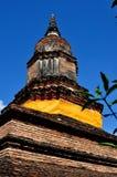 Chiang Mai, Thailand: Wat That Klang Chedi Royalty Free Stock Photo