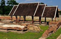 Chiang Mai, Thailand: Wat Pu Padom Excavations Royalty Free Stock Image