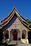 Chiang Mai, Thailand: Wat Santhitham lizenzfreies stockbild