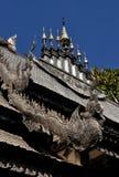 Chiang Mai, Thailand: Wat Sri Suphan, the Silver Wat Stock Image