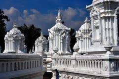 Chiang Mai, Thailand: Wat Suan Dok Royal Tombs Stock Images