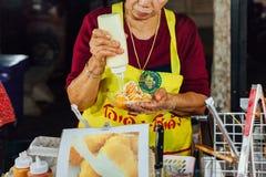 Chiang Mai ulicy jedzenie Obrazy Royalty Free