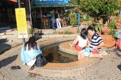 Chiang Mai uliczny widok w Tajlandia Obrazy Stock
