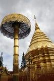 Chiang Mai Wat Stock Photo