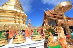 Chiang Mai Wat Phra που Doi Suthep Στοκ Φωτογραφίες