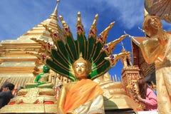 Chiang Mai Wat Phra που Doi Suthep Στοκ εικόνα με δικαίωμα ελεύθερης χρήσης