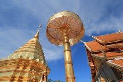 Chiang Mai Wat Phra που Doi Suthep Στοκ Εικόνες