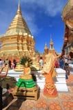 Chiang Mai Wat Phra που Doi Suthep Στοκ φωτογραφία με δικαίωμα ελεύθερης χρήσης