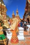 Chiang Mai Wat Phra That Doi Suthep Fotografering för Bildbyråer