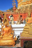 Chiang Mai Wat Phra That Doi Suthep stock fotografie