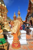 Chiang Mai Wat Phra That Doi Suthep Stock Image
