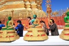 Chiang Mai Wat Phra That Doi Suthep Stock Photography