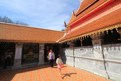 Chiang Mai Wat Phra That Doi Suthep Royalty Free Stock Images