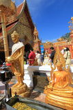 Chiang Mai Wat Phra That Doi Suthep Stock Photography