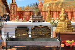 Chiang Mai Wat Phra That Doi Suthep in Thailand Royalty Free Stock Photography