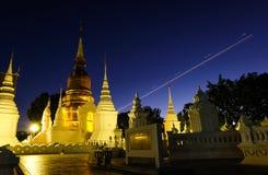 Chiang Mai Wat Suan Dok Lizenzfreies Stockbild