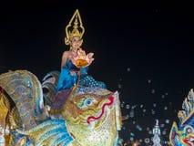 Chiang Mai Yee Peng festival. CHIANG MAI , THAILAND - NOV 04 : Participant in a parade during Yee Peng festival in Chiang Mai , Thailand on November 04 2017 Stock Photography