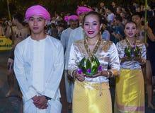 Chiang Mai Yee Peng festival Stock Images
