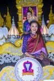 Chiang Mai Yee Peng festival. CHIANG MAI , THAILAND - NOV 04 : Participants in a parade during Yee Peng festival in Chiang Mai , Thailand on November 04 2017 Royalty Free Stock Photos