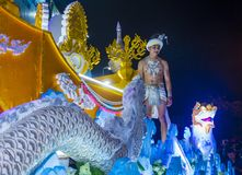 Chiang Mai Yee Peng festival Royalty Free Stock Photo