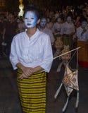 Chiang Mai Yee Peng festival. CHIANG MAI , THAILAND - NOV 04 : Participants in a parade during Yee Peng festival in Chiang Mai , Thailand on November 04 2017 Royalty Free Stock Photo