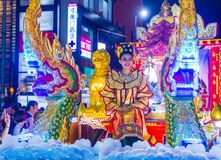 Chiang Mai Yee Peng festival Royalty Free Stock Image