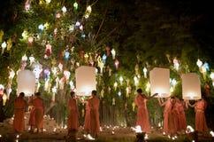 Chiang Mai Yi Peng Festival Fotografia Stock