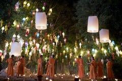Chiang Mai Yi Peng Festival Immagine Stock Libera da Diritti