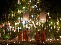 Chiang Mai Yi Peng Festival Immagini Stock