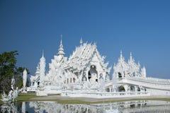 chiang rai świątynny Thailand biel Obraz Royalty Free