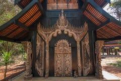 Chiang Rai στο βόρειο μουσείο σπιτιών της Ταϊλάνδης μαύρο Στοκ Εικόνα