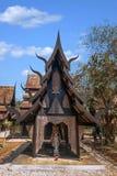 Chiang Rai στο βόρειο μουσείο σπιτιών της Ταϊλάνδης μαύρο Στοκ Εικόνες