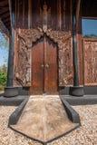 Chiang Rai στο βόρειο μουσείο σπιτιών της Ταϊλάνδης μαύρο Στοκ Φωτογραφία